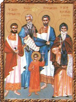 Резултат с изображение за Св. мъченици Назарий, Гервасий, Протасий и Целсий